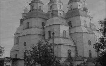 Троїцька соборна церква в Самарській слободі (Новомосковську). 1773–1779. Майстер  Я. Погребняк