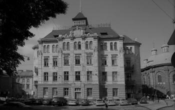 """Будівля банку """"Дністер"""" у Львові.  1905-1906"""