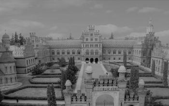 Будинок резиденції митрополита Буковини в Чернівцях (нині Національний університет). 1864-1873