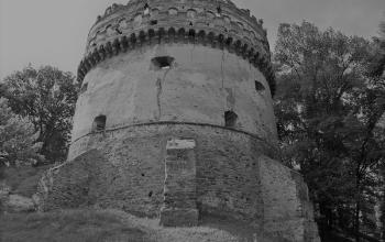 Острозький замок. Кругла (Нова) вежа. Кінець XVI ст.
