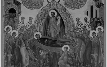 Ікона Успіння Богородиці. 1547 р. О. Горошкович