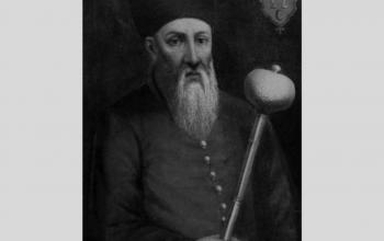 Петро Канашевич Сагайдачний . Загинув після поранення у битви під Хотином 1621 року. Підтримав відновлення православної ієрархії у 1620 р.