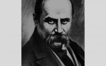 Тарас Шевченко. Член Кирило-Мефодіївського братства.