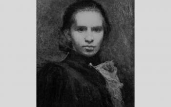 """Картина """"Портрет Лесі Українки"""". 1900. І. Труш"""
