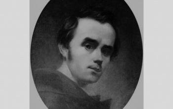 "Картина ""Автопортрет"". 1840. Т. Шевченко"